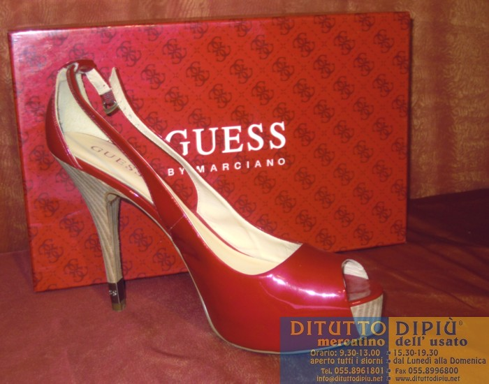 best loved 07db7 7456c SCARPA SANDALO ROSSO GUESS BY MARCIANO | DITUTTODIPIÚ IL TUO ...